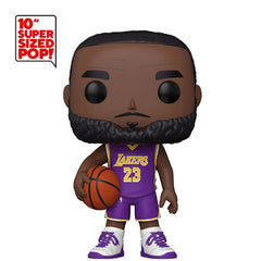 NBA Pop! Vinyl Figure LeBron James Purple Jersey (LA Lakers) [10 inch] [69]