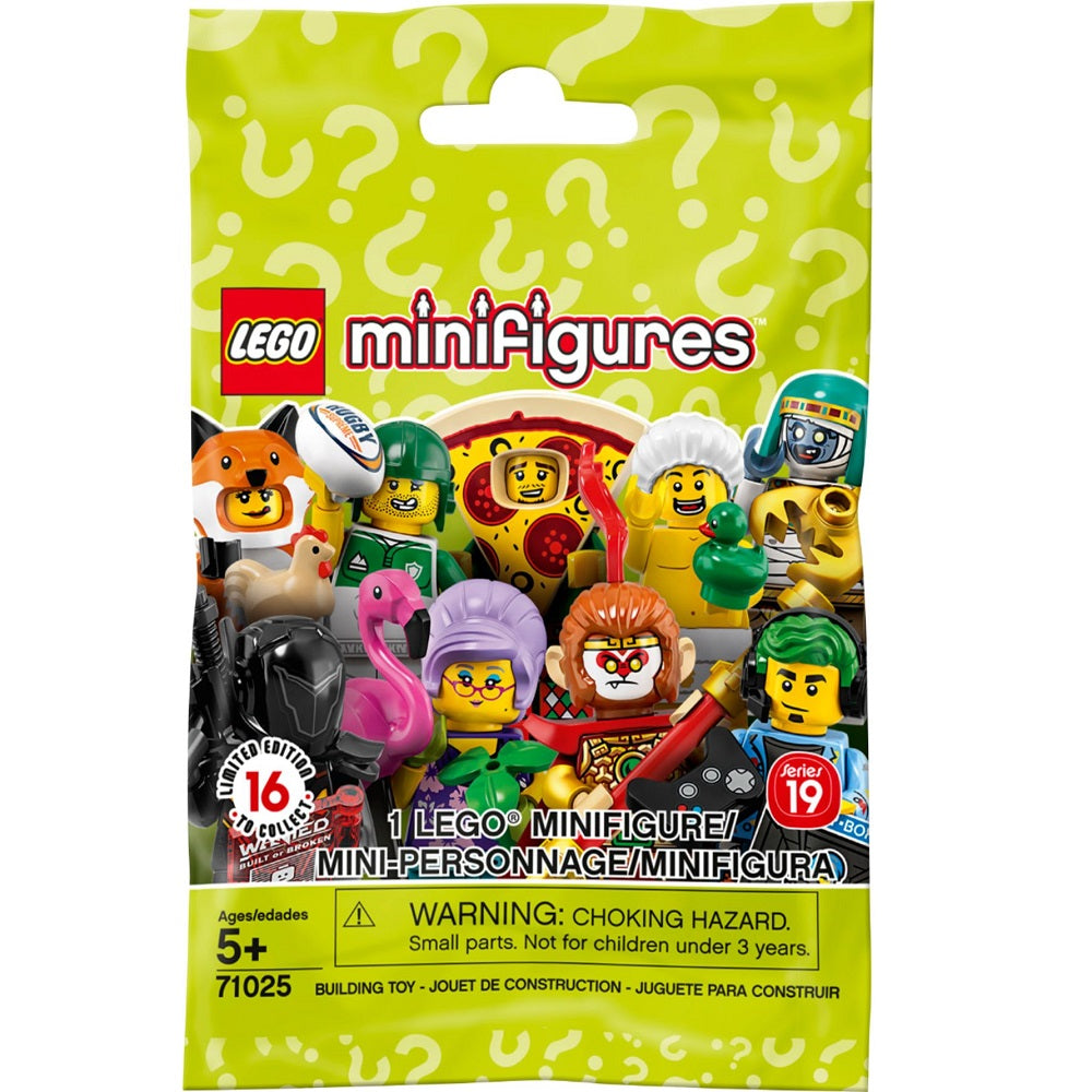LEGO Minifigures Series 19 (71025) (1 Blind Pack)