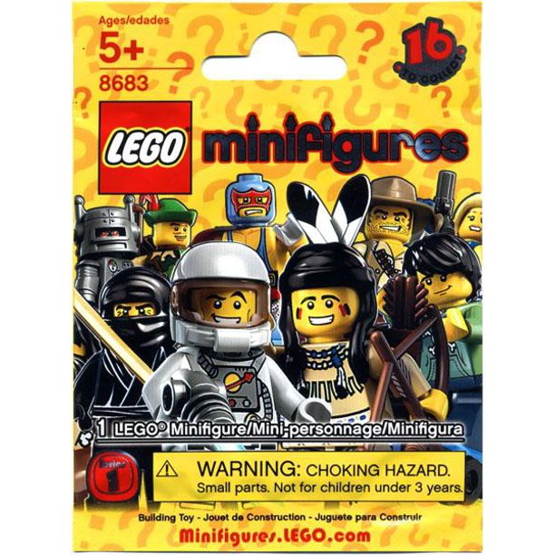 LEGO Minifigures Series 1 (8683) (1 Blind Pack)