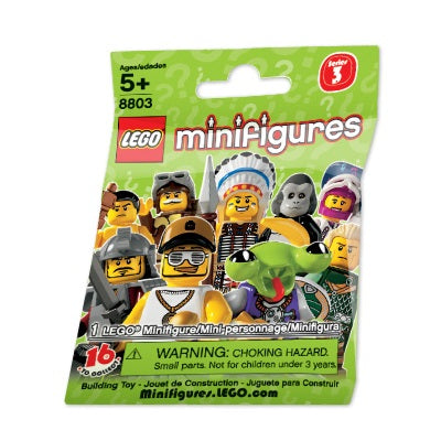 LEGO Minifigures Series 3 (8803) (1 Blind Pack)