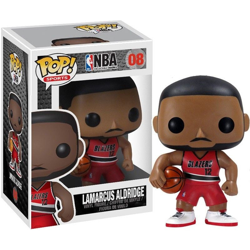 NBA Series 1 Pop! Vinyl Figure Lamarcus Aldridge [08]