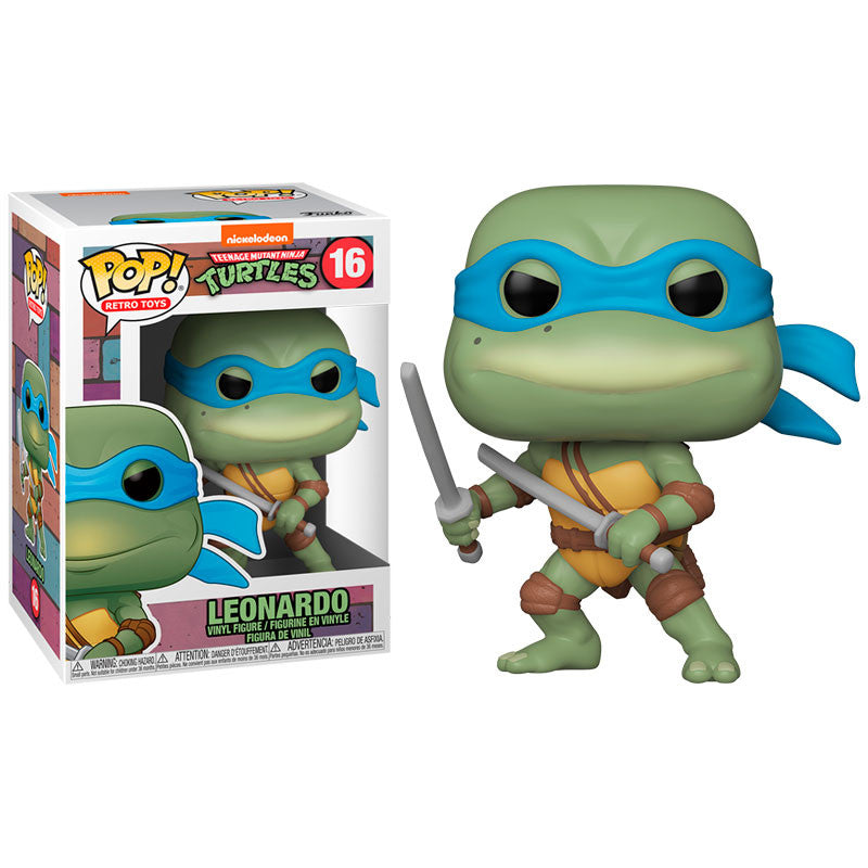 Teenage Mutant Ninja Turtles Pop! Vinyl Figure Leonardo [16]