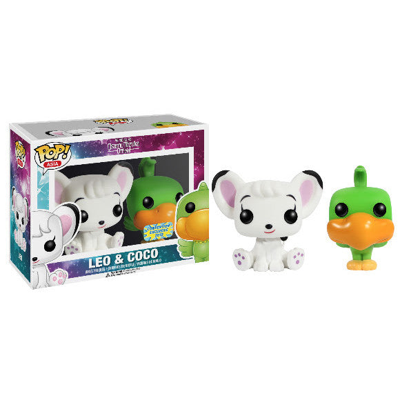 Asia Pop! Vinyl Figure Flocked Leo & Coco [Tezuka Osamu Official] Exclusive