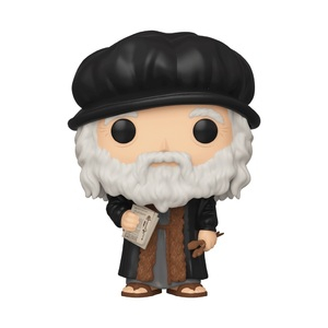 Artists Pop! Vinyl Figure Leonardo Da Vinci [04]