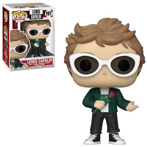 Rocks Pop! Vinyl Figure Lewis Capaldi [197] - Fugitive Toys