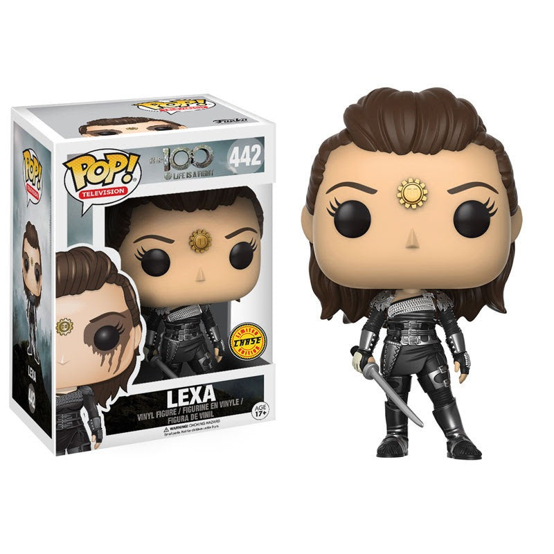 The 100 Pop! Vinyl Figure Lexa (Chase) - Fugitive Toys