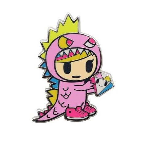 Tokidoki Little Terror Enamel Pin
