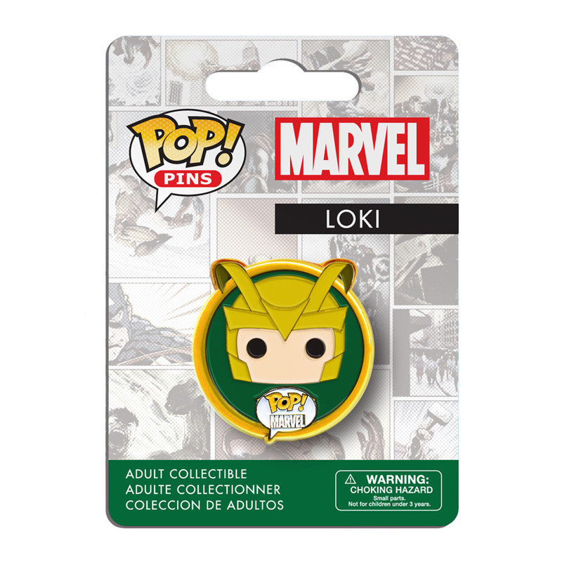Marvel Pop! Pins Loki