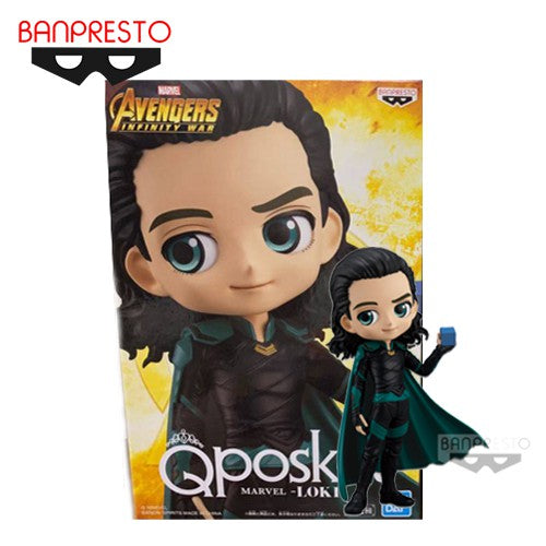 Marvel Avengers: Infinity War Q Posket Loki (with Tesseract) - Fugitive Toys