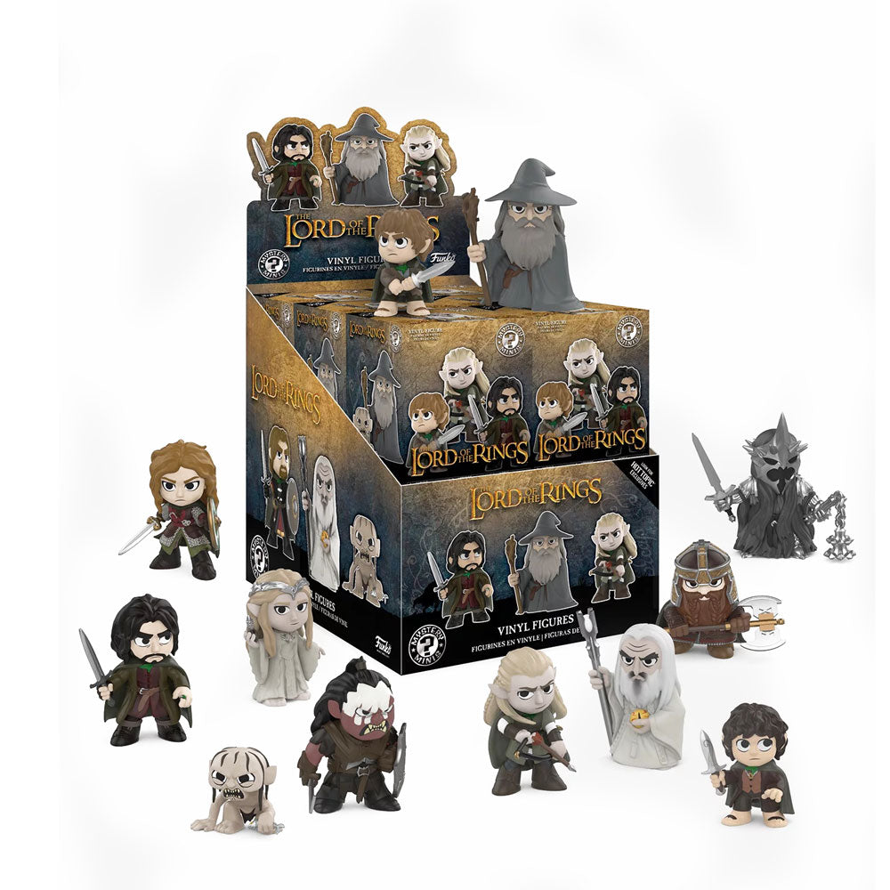 The Lord of the Rings Mystery Minis [Hot Topic Exclusive]: (1 Blind Box) - Fugitive Toys