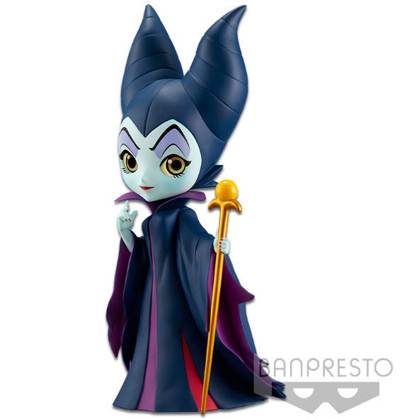 Disney Q Posket Maleficent (Gold Staff) - Fugitive Toys