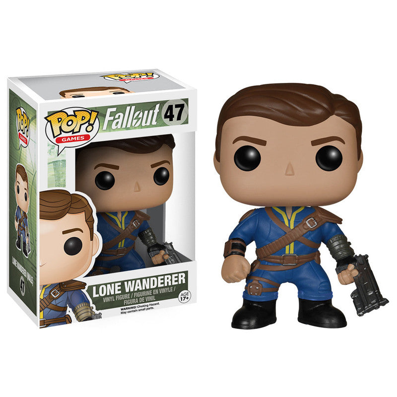 Fallout Pop! Vinyl Figure Lone Wanderer [Male]
