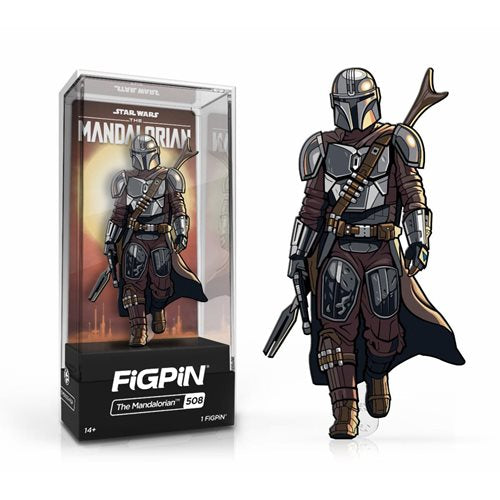 Star Wars The Mandalorian: FiGPiN Enamel Pin Mando [508]