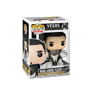 NHL Pop! Vinyl Figure Marc-Andre Fleury (Vegas Golden Knights) [36] - Fugitive Toys