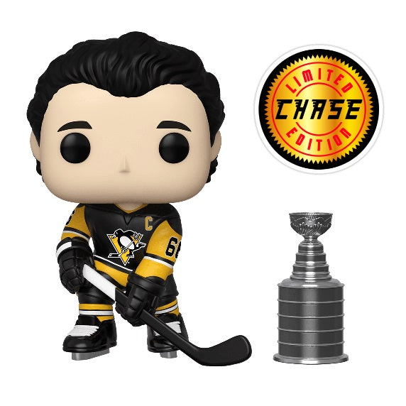 NHL Pop! Vinyl Figure Mario Lemieux with Stanley Cup (Pittsburg Penguins) (Chase) [49]