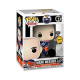NHL Pop! Vinyl Figure Mark Messier with Stanley Cup (Edmonton Oilers) (Chase) [47] - Fugitive Toys