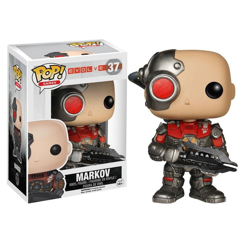 Evolve Pop! Vinyl Figure Markov
