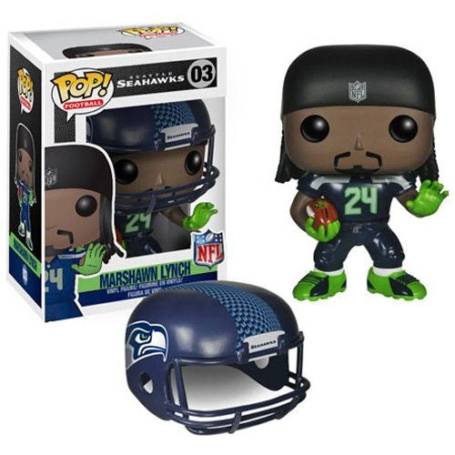 NFL Pop! Vinyl Figure Marshawn Lynch [Seattle Seahawks]