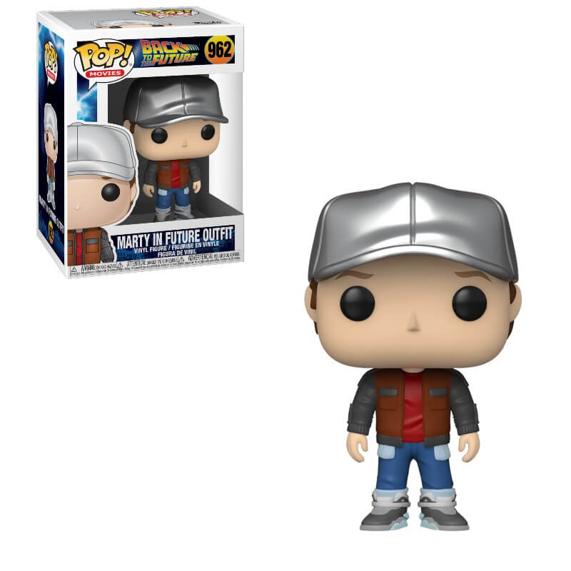 Back To The Future Pop! Vinyl Figure Marty in Future Outfit [962]