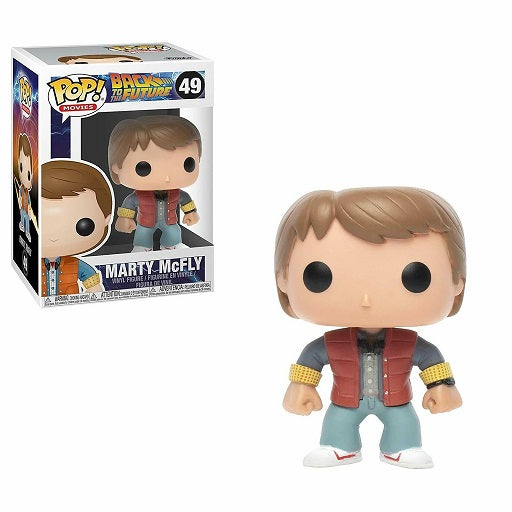Movies Pop! Vinyl Figure Marty McFly [Back to the Future] [49] - Fugitive Toys