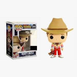 Back To The Future Pop! Vinyl Figure Marty McFly (Cowboy) [816]