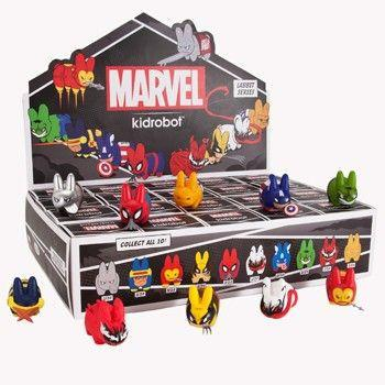 Marvel x Kidrobot Labbit Mini Toy Series 2: (Case of 20) - Fugitive Toys