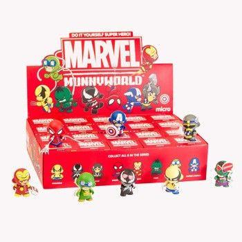 Kidrobot Marvel Micro Munny Series (Case of 20)