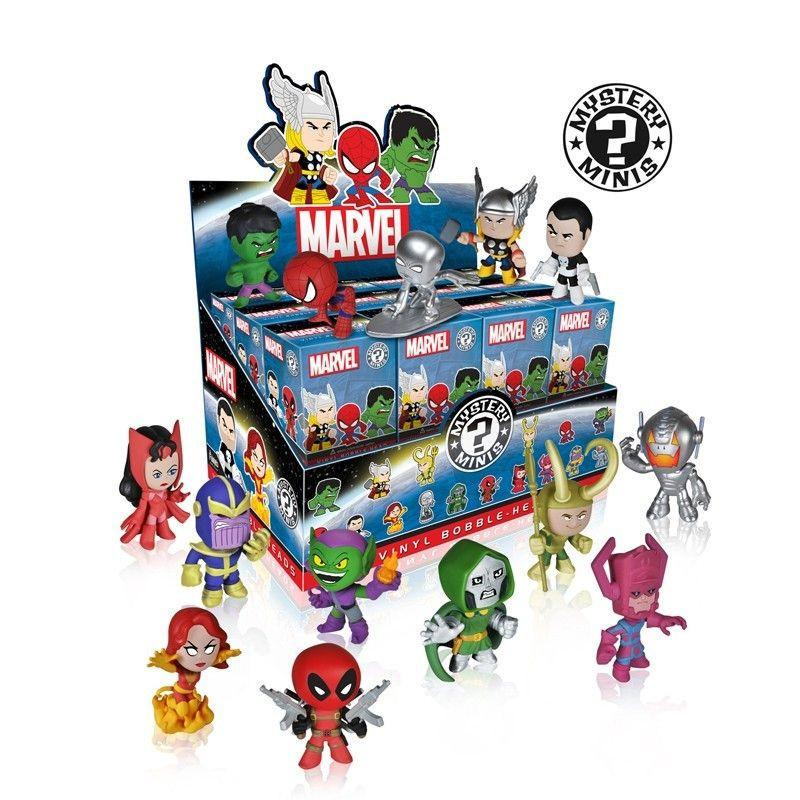 Marvel Mystery Minis: (Case of 24) - Fugitive Toys