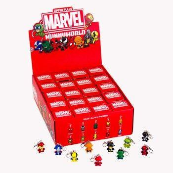 Kidrobot Marvel Munny Zipper Pull Series 1 (Case of 20)