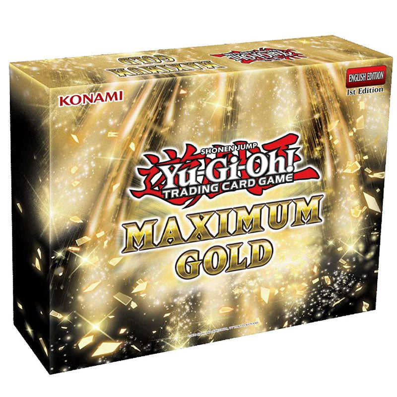 Yu-Gi-Oh! Trading Card Game Maximum Gold Booster Box - Fugitive Toys