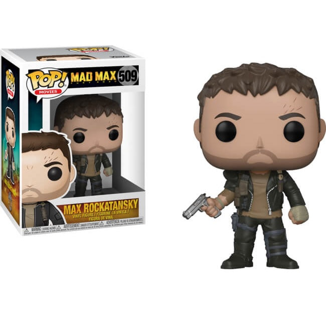 Movies Pop! Vinyl Figure Max Rockatansky [Mad Max: Fury Road] [509]