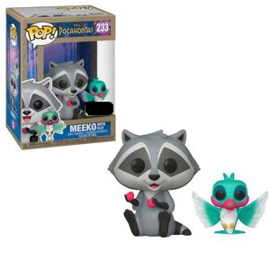 Pocahontas Pop! Vinyl Figure Meeko with Flit [233] - Fugitive Toys
