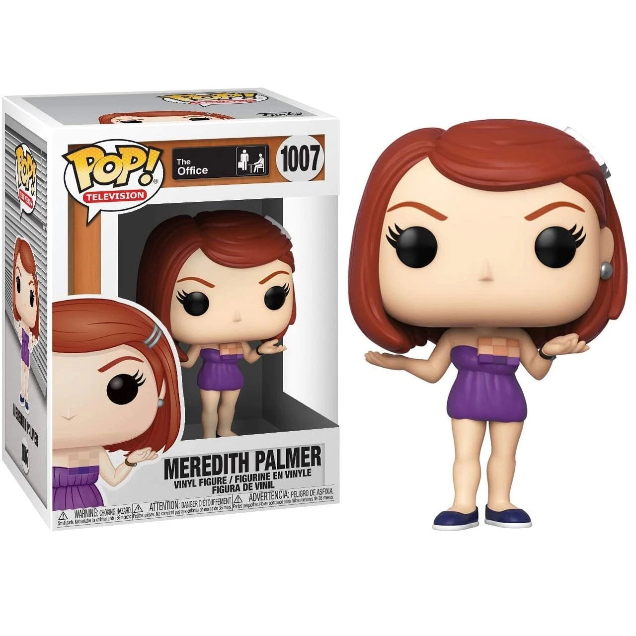 The Office Pop! Vinyl Figure Meredith Palmer [1007] - Fugitive Toys