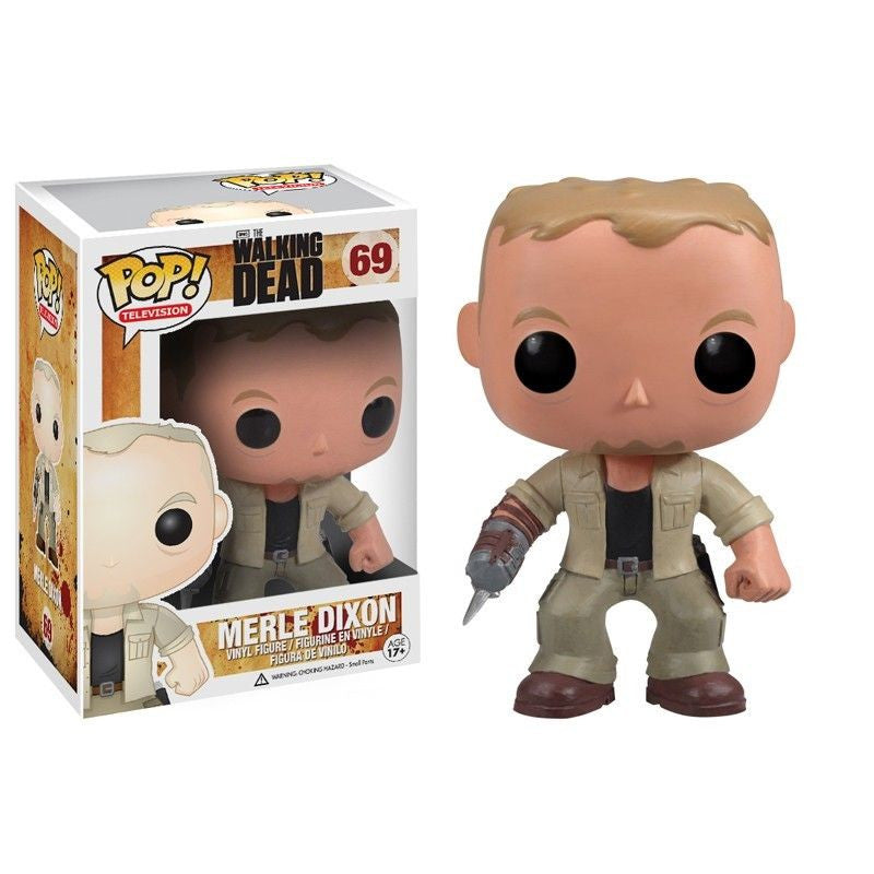 The Walking Dead Pop! Vinyl Figure Merle Dixon [69]