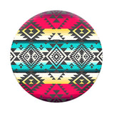 PopSockets Designs: Red Teal Yellow Tribal Pattern
