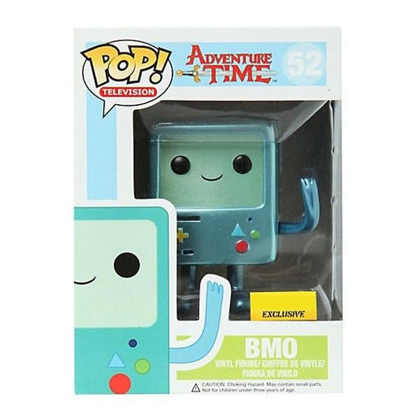 Adventure Time Pop! Vinyl Figure Metallic BMO [Exclusive]