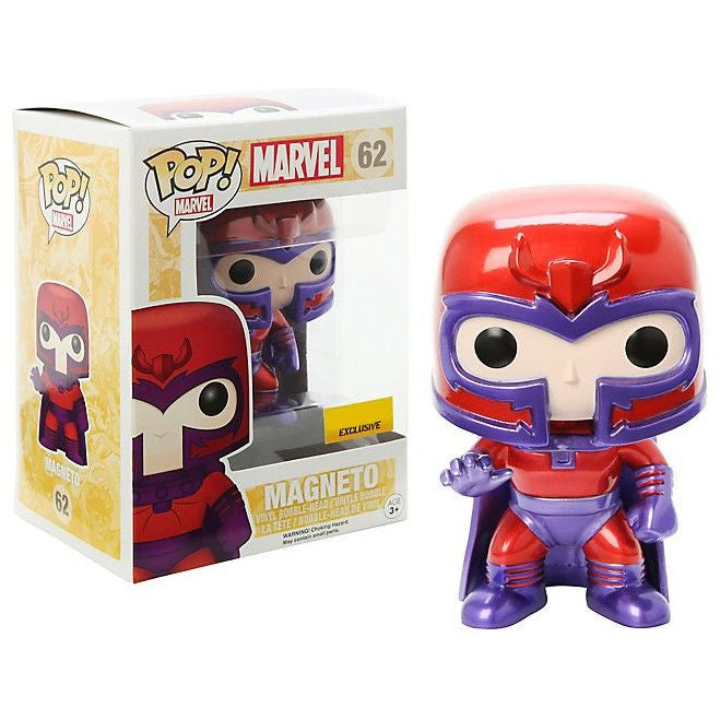 Marvel Pop! Vinyl Bobblehead Metallic Magneto [X-Men] [62]