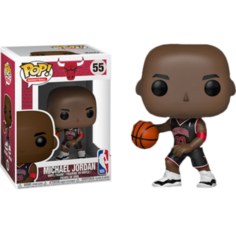 Sports Pop! Vinyl Figure Michael Jordan (Black Alternative Jersey) [55]