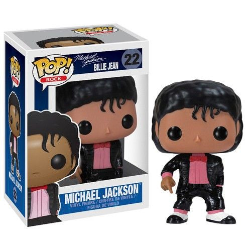 Rocks Pop! Vinyl Figure Michael Jackson [Billie Jean]