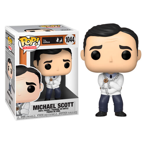 The Office Pop! Vinyl Figure Michael Scott in Straightjacket [1044]