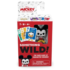 Disney Something Wild Pop! Card Game Mickey and Friends Mickey Mouse