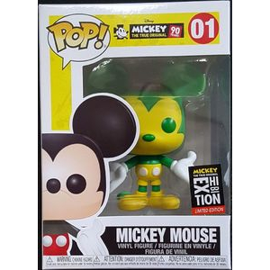 Disney Pop! Vinyl Figure Mickey Mouse (Green and Yellow) (NYC Exhibition) [01] - Fugitive Toys