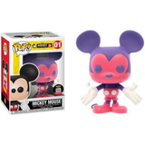 Disney Pop! Vinyl Figure Mickey Mouse (Pink and Purple) [01] - Fugitive Toys