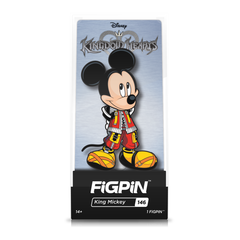 Disney Kingdom Hearts: FiGPiN Enamel Pin King Mickey [146]