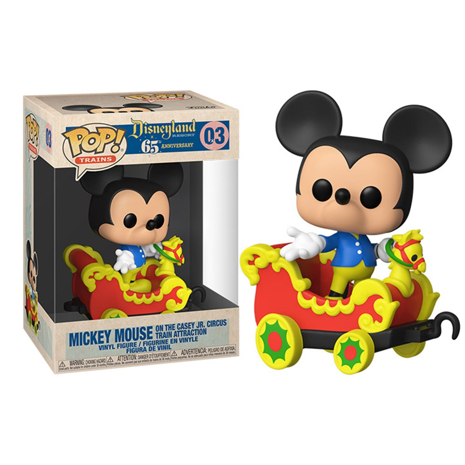 Disney 65th Anniversary Pop! Vinyl Trains Casey Jr Mickey [03] - Fugitive Toys