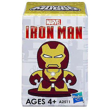 Hasbro Iron Man 3 Micro Muggs Mini Vinyl Figures: (1 Blind Box) - Fugitive Toys