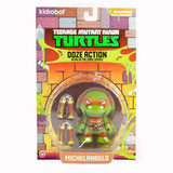 Kidrobot Teenage Mutant Ninja Turtles Ooze Action Michelangelo GITD - Fugitive Toys