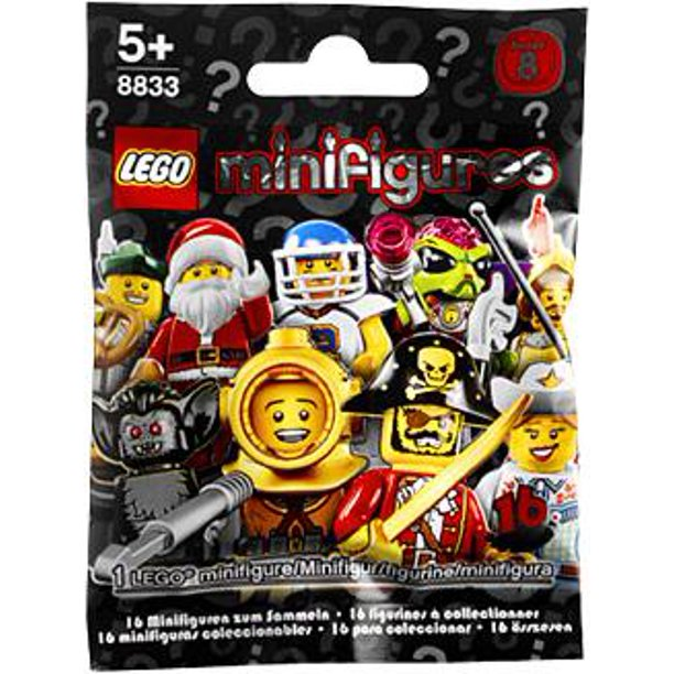 LEGO Minifigures Series 8 (8833) (1 Blind Pack)