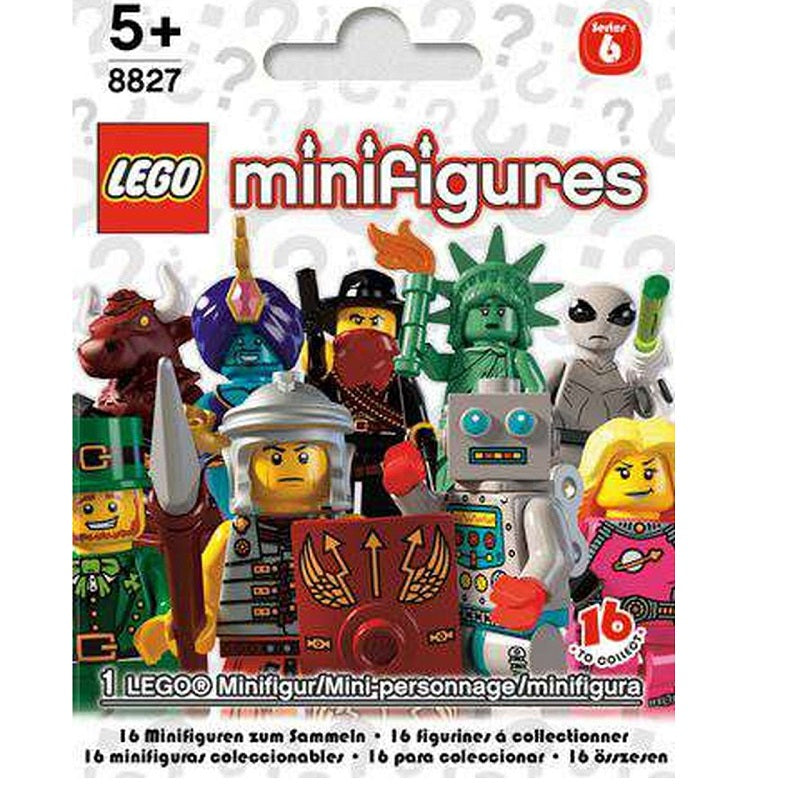 LEGO Minifigures Series 6 (8827) (1 Blind Pack)