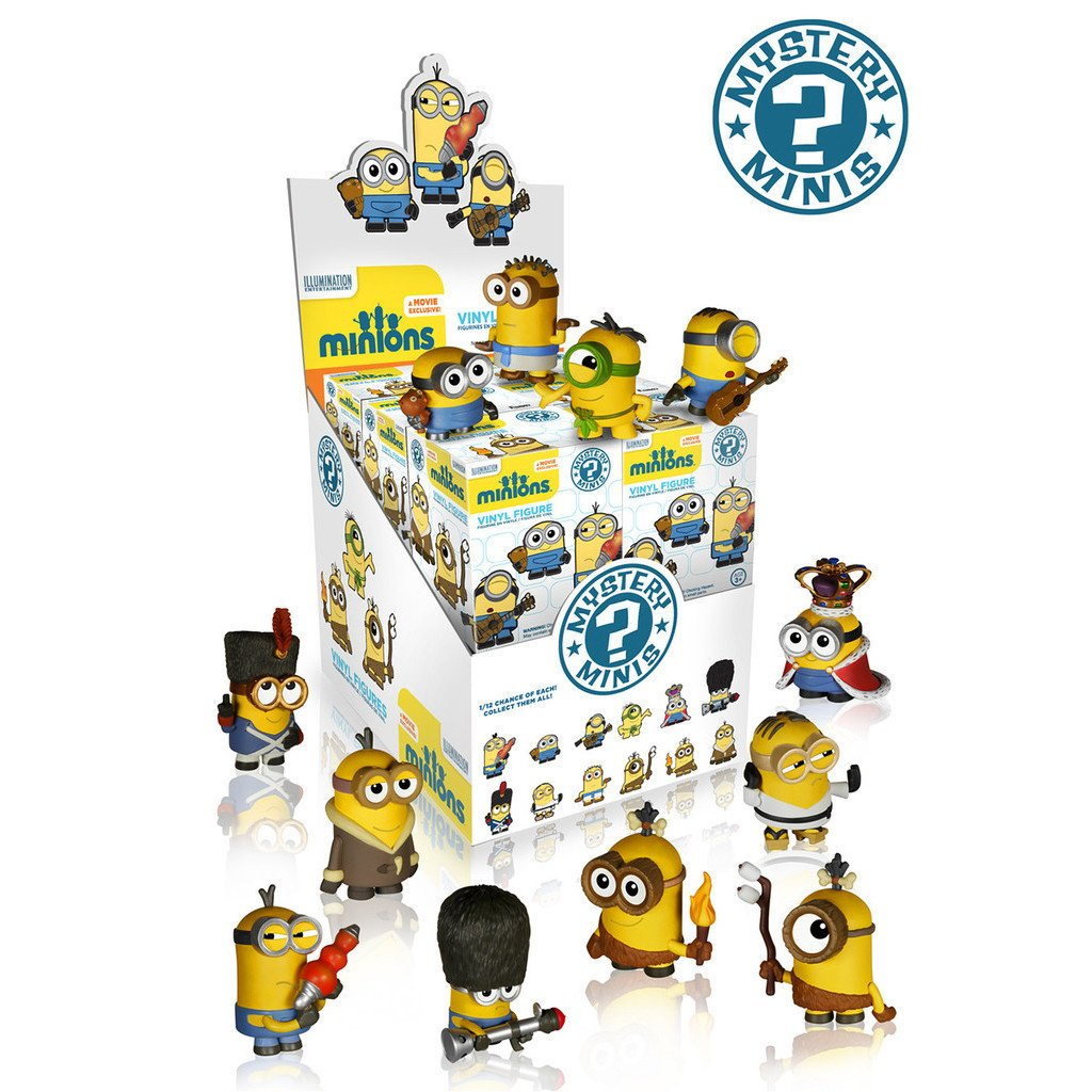 Minions Mystery Minis: (Case of 12)